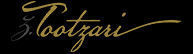 Tootzari – Stained Glass Artist Logo